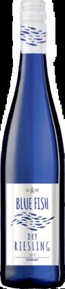 Riesling i blå flaske