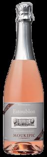 Mousserende alkoholfri rosé